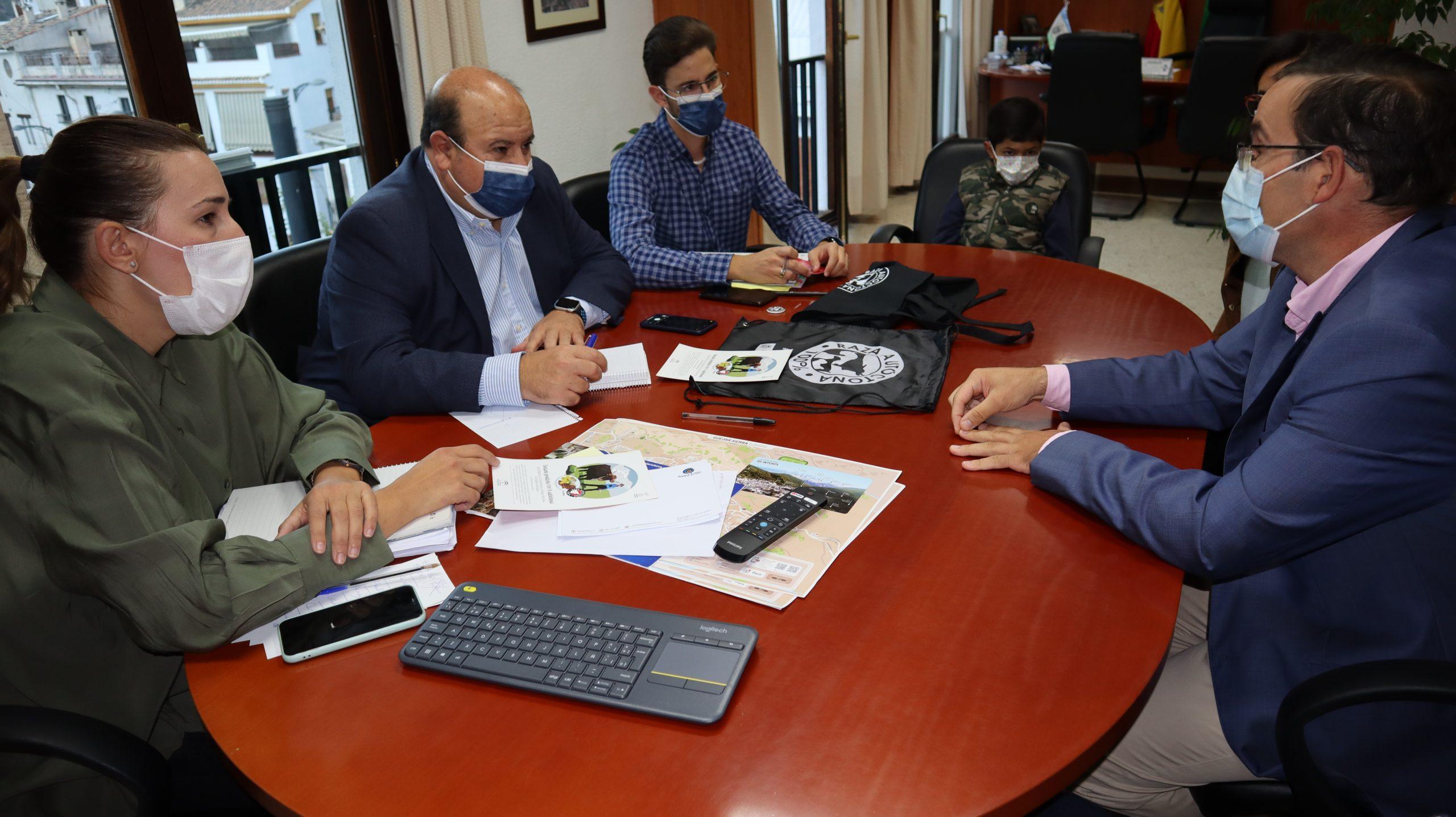 Reunión con el Ayuntamiento de Güéjar-Sierra